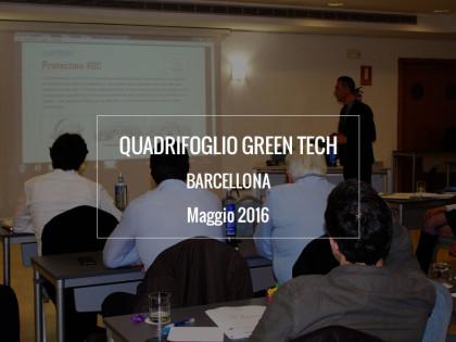 Quadrifoglio Green Tech a Barcellona, Maggio 2016