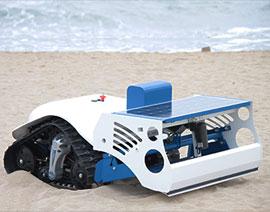 solarino robot pulisci spiaggia elettrico